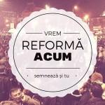 Democraţie ACUM! Apel pentru reformă politică şi electorală rapidă!