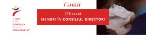 Consiliul Tineretului din Romania (CTR) caută forțe proaspete pentru Consiliul Director!