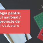 Metodologia pentru Concursul național / local de proiecte de tineret în dezbatere publică