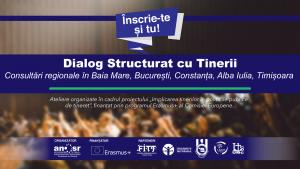 Dialog structurat – consultări regionale cu tinerii