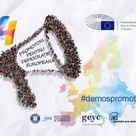 3 voluntari CTR, promotori pentru democrație europeană 2018