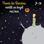 Tinerii din România merită un buget mai bun