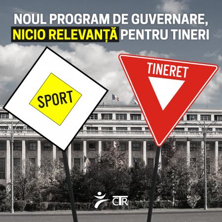 Noul program de guvernare – nicio relevanță pentru tineri