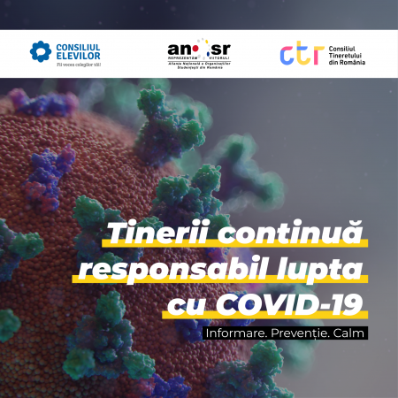 Tinerii continuă responsabil lupta cu COVID-19