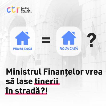 Ministrul Finanțelor vrea să lase tinerii în stradă?!