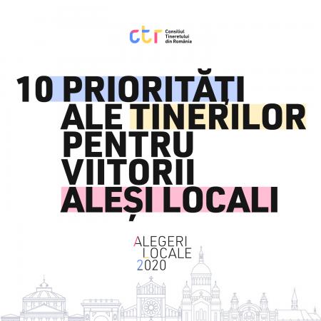 Zece priorități ale tinerilor pentru viitorii aleși locali
