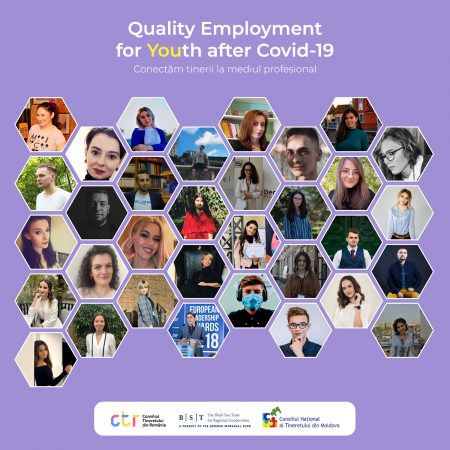 Cine sunt participanții Quality Employment for Youth after COVID-19?