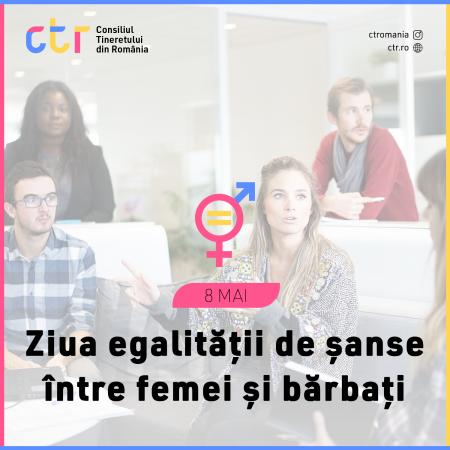 Ziua egalității de șanse dintre femei și bărbați