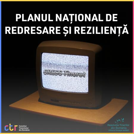 Tineretul – eliminat din PNRR